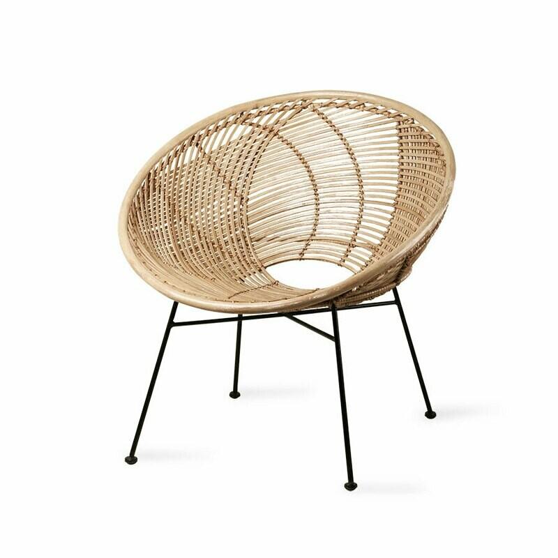 Rattan Ball Lounge Chair
