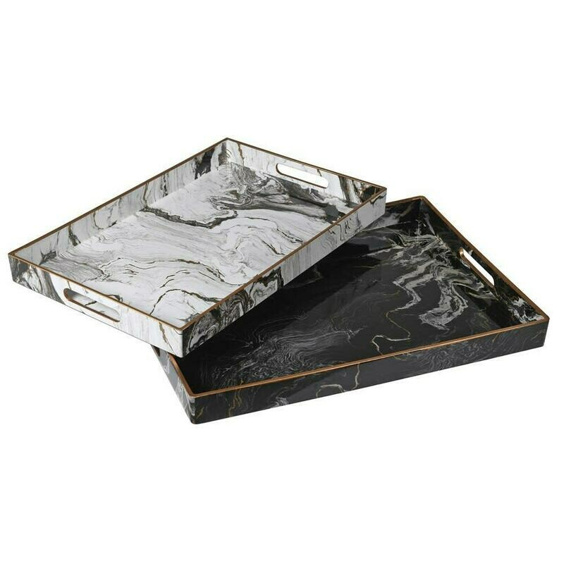 Marble Trays (Set of 2)
