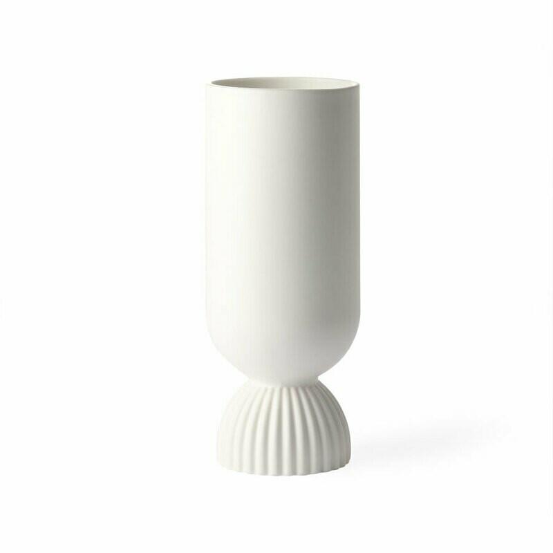 Ceramic Flower Vase White