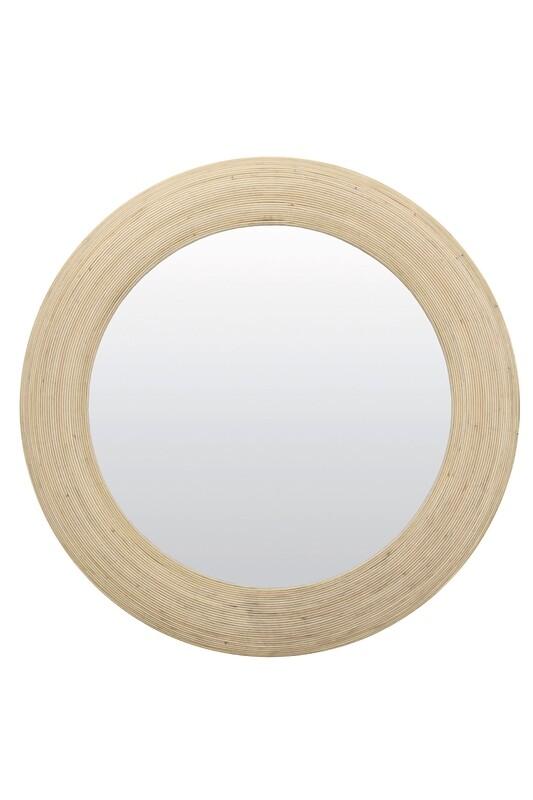 Peri Rattan Mirror