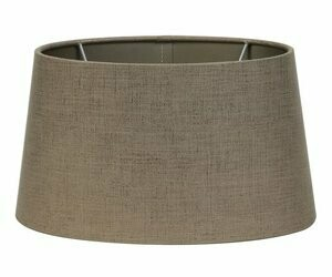Ellips Oval Lampshade - Bronze