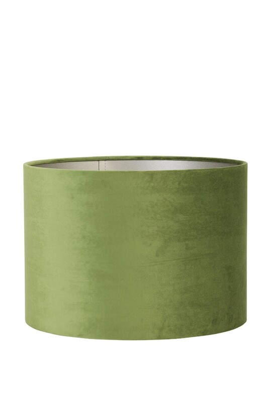 Velours Olive Green Lampshade