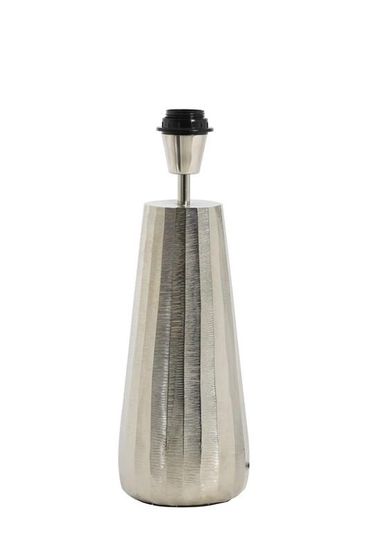 Saley Lamp Base - Nickel