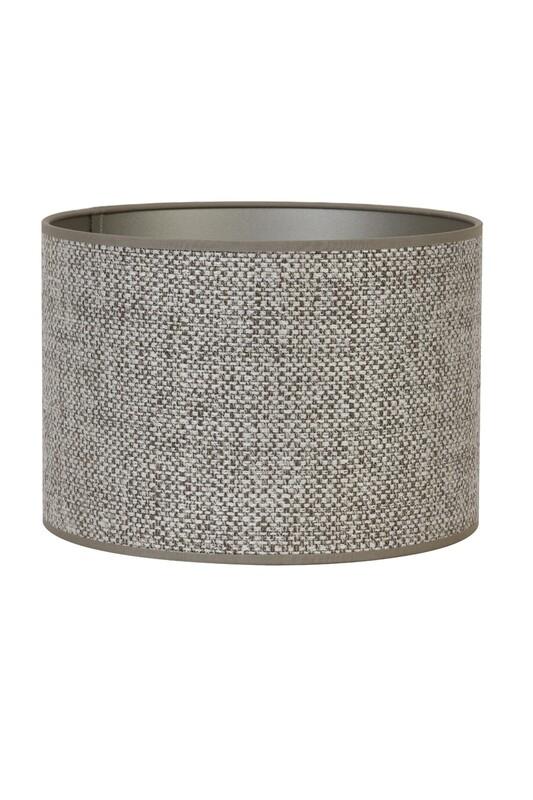 Saverna Cylinder Lampshade - Brown Beige