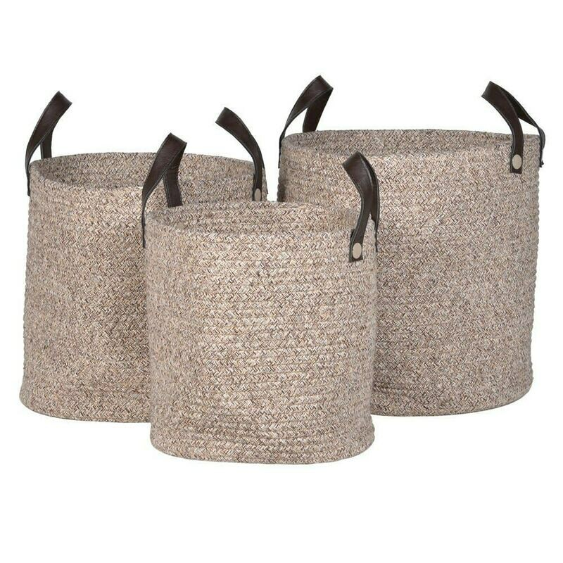 Rope Baskets - Set of 3
