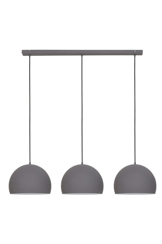 Jaicey 3L Cement/White Hanging Lamp