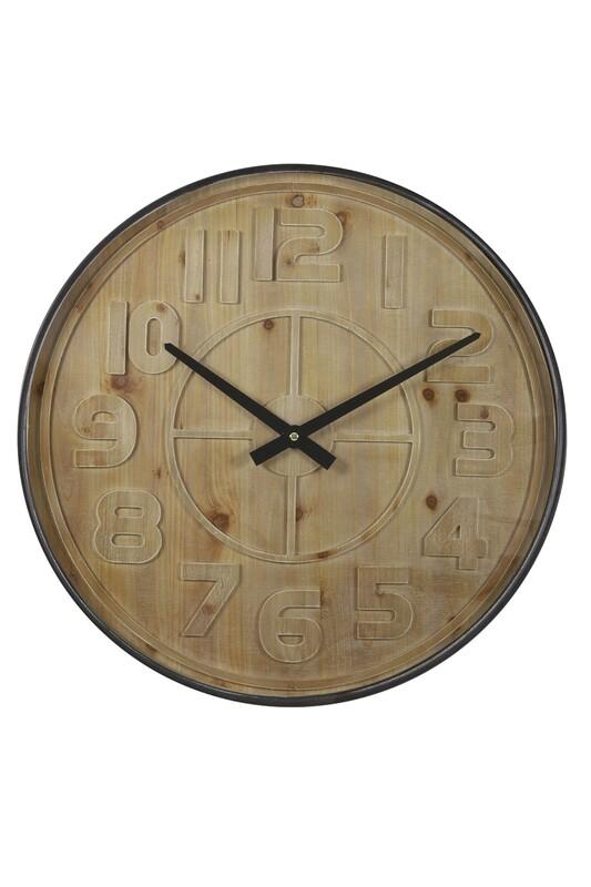 Logan Wood Clock