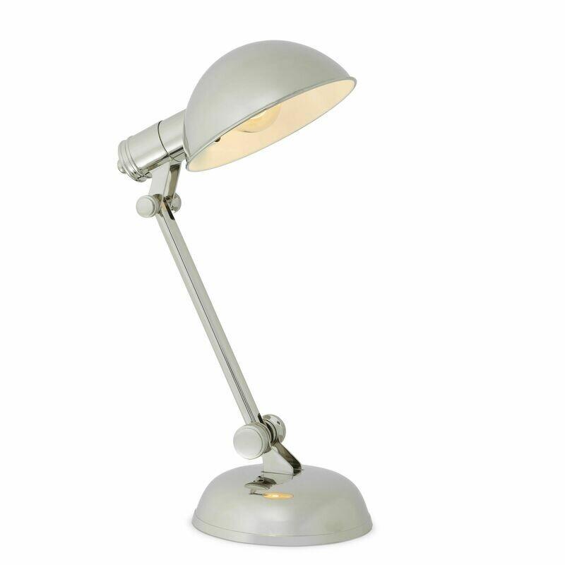 Navy Desk Lamp