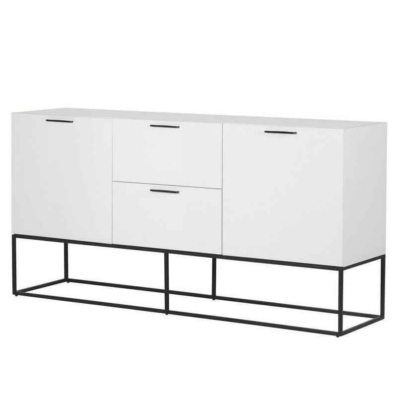 White Gloss Large Sideboard