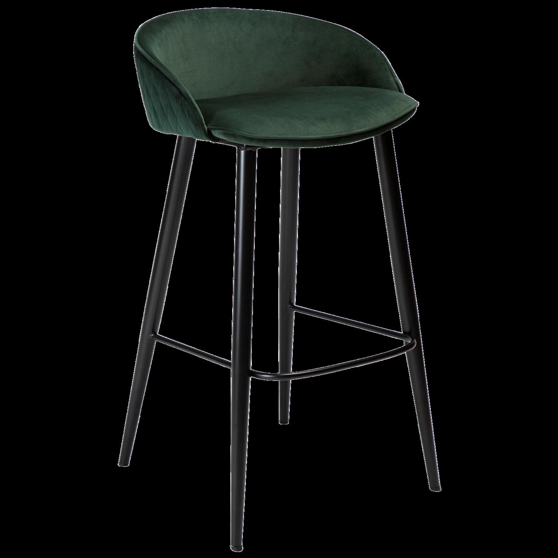 Dual Bar Stool - Emerald Green