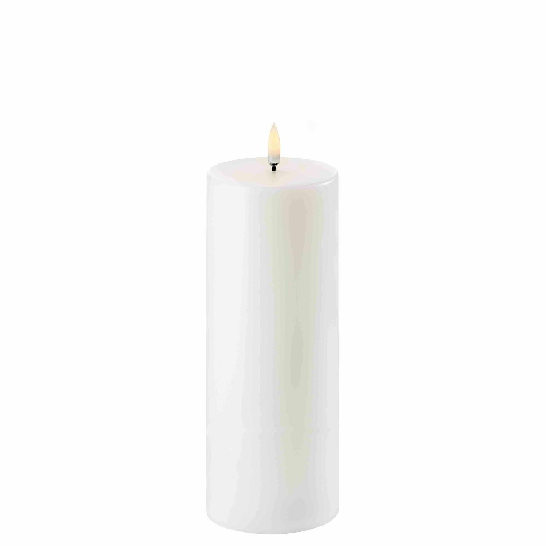 Uyuni LED Pillar Candle 8x20cm