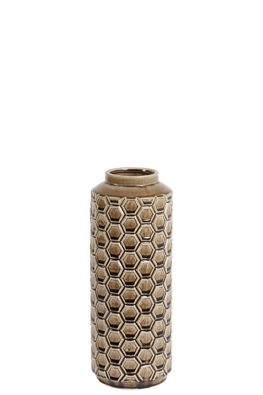 Taverne Small Brown Vase
