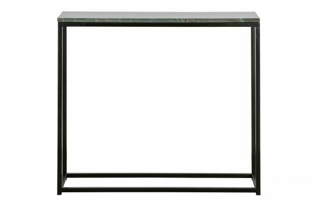 Mellow Marble Black Console Table