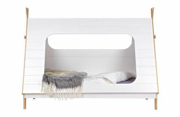 Tipi White Bed