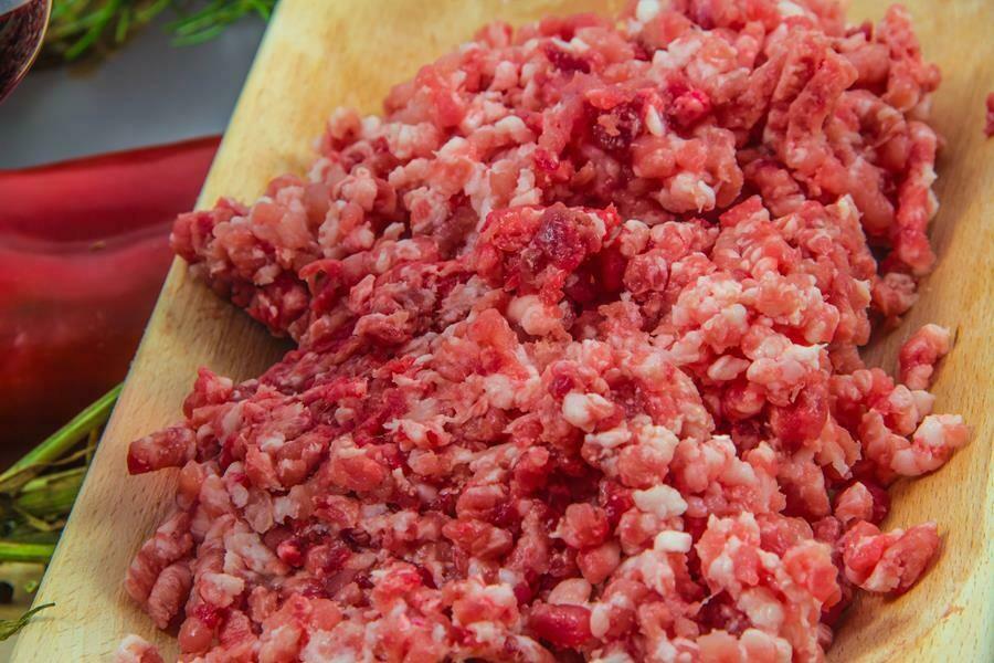 Macinato di maiale (porzione da 500 g)