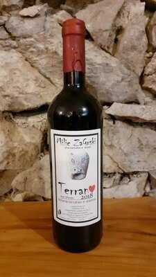 Bottiglia vino 0,75  IGP TERRANO 2018 (vol 11,5%)