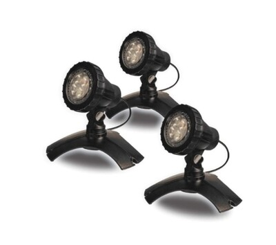Small Warm White LED 3 Light kit