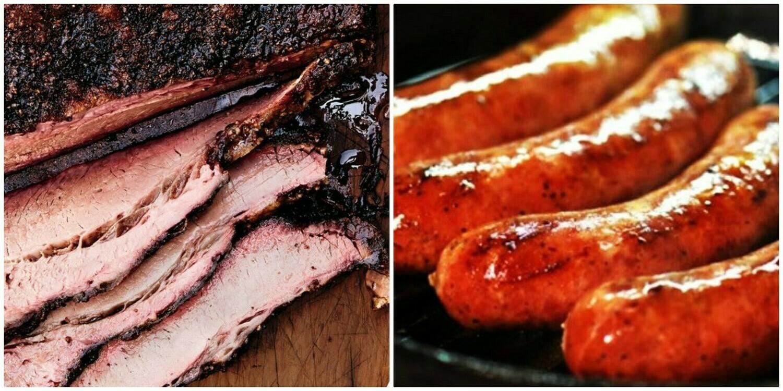 #1 Family Meal Brisket & Sausage!!!!