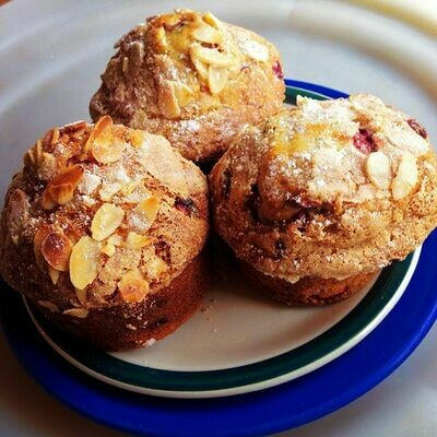 Cranberry Orange Vegan Muffin - Minimum Order of 2