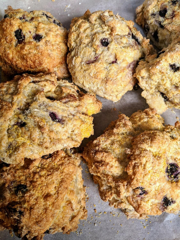 Blueberry Cornmeal Scone - Minimum Order of 4