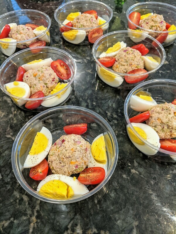 Tuna and Egg Salad - Minimum Order of 2