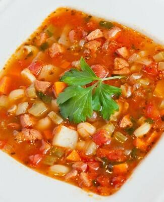 Lentil Minestrone Soup - Pint