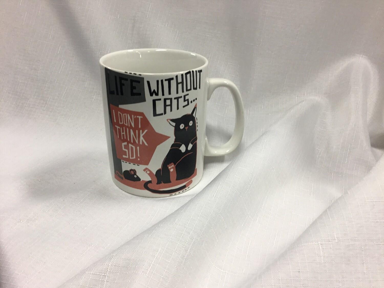 Life Without Cats Mug