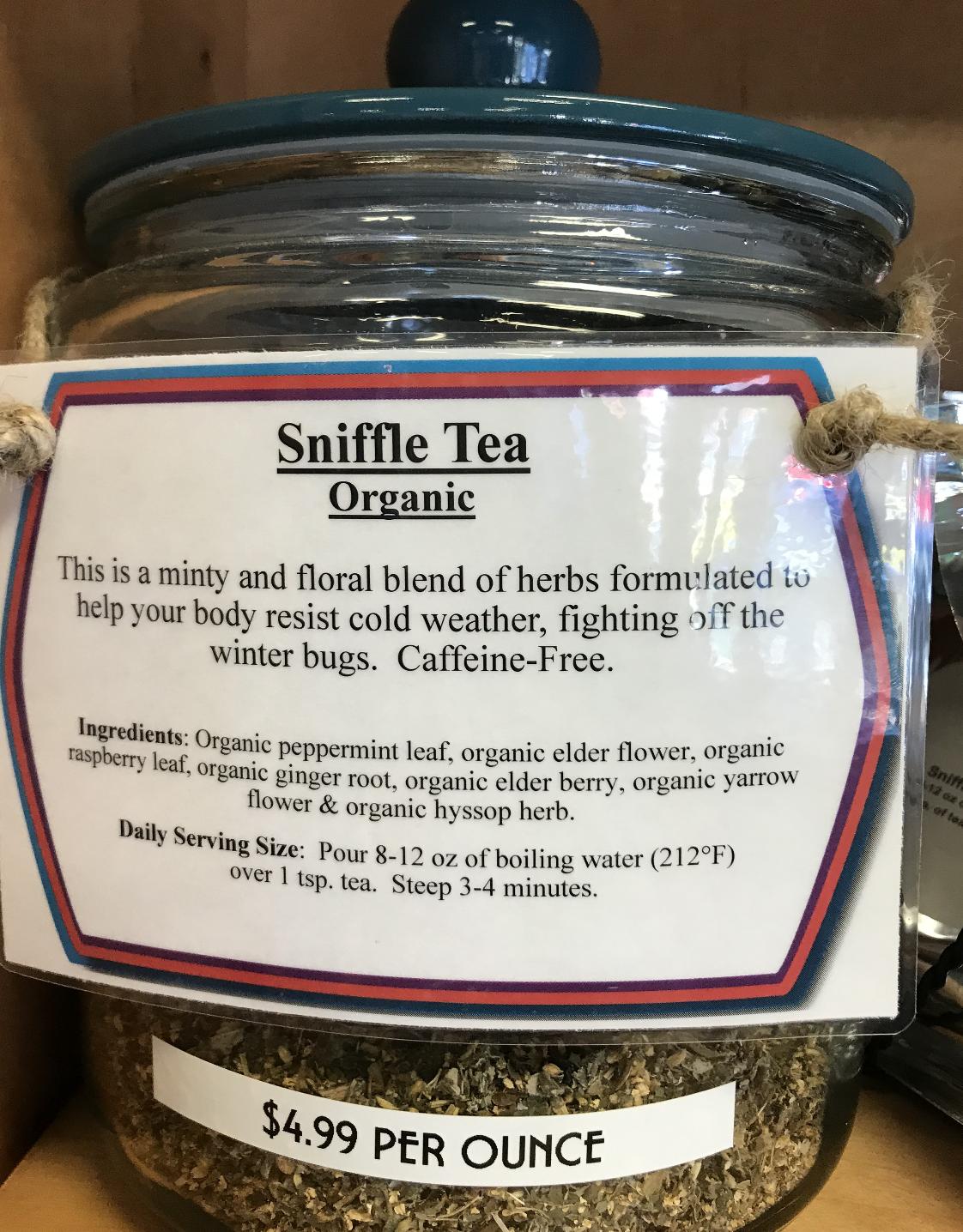 Sniffle Tea