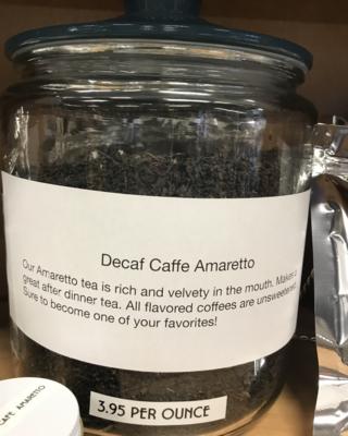 Decaf Caffe Amaretto