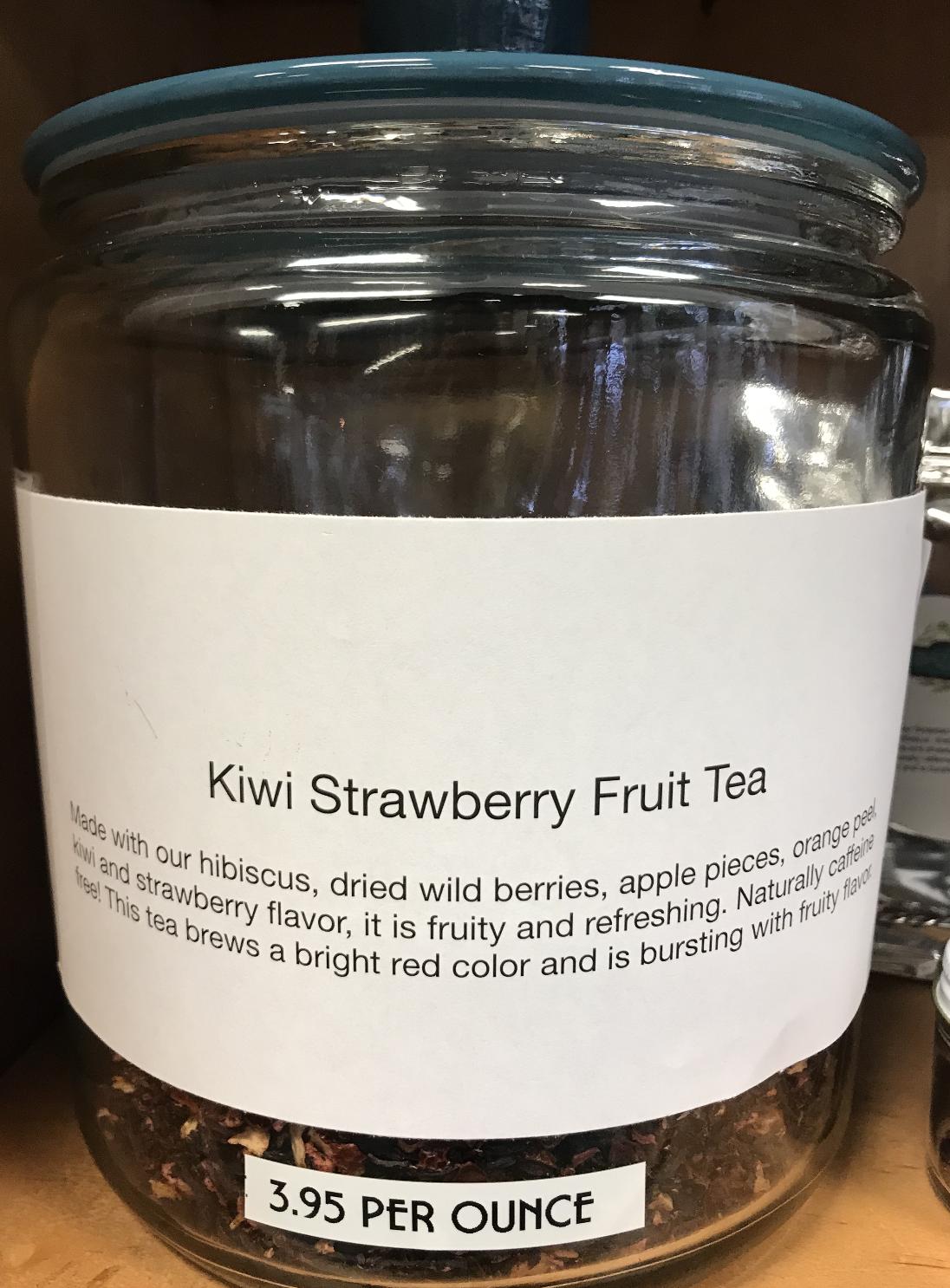 Kiwi Strawberry Tea per ounce