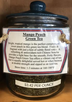 Mango Peach Tea per ounce