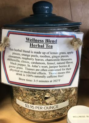 Wellness Tea per ounce