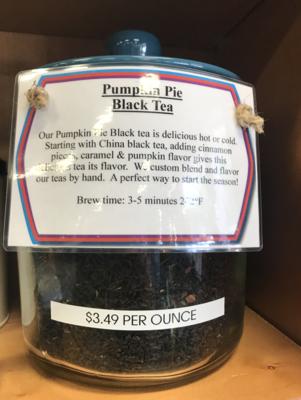 Pumpkin Pie Tea per ounce