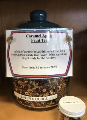 Caramel Apple Fruit Tea per ounce
