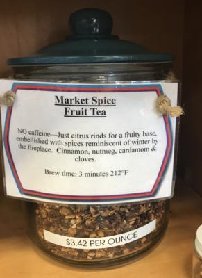 Market Spice Fruit Tea per ounce