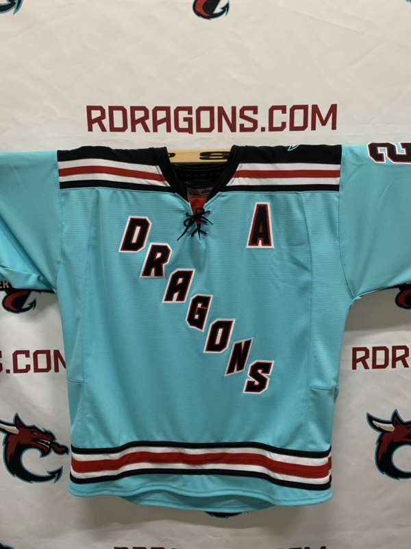 Authentic Teal Jersey Custom Name/Number