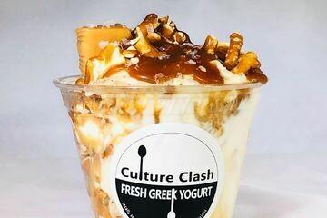 Carmel Pecan Greek Yogurt