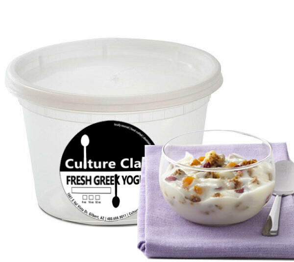 Swiss Muesli Greek Yogurt