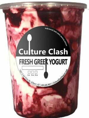 White Chocolate Raspberry Greek Yogurt