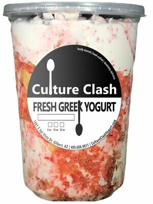 Strawberry Shortcake Greek Yogurt