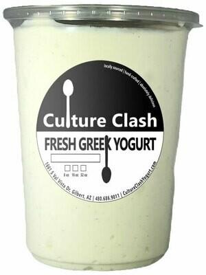 Madagascar Vanilla Bean Greek Yogurt