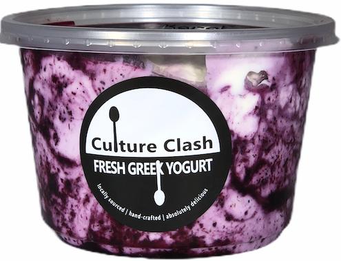 Blueberry Lemon Greek Yogurt
