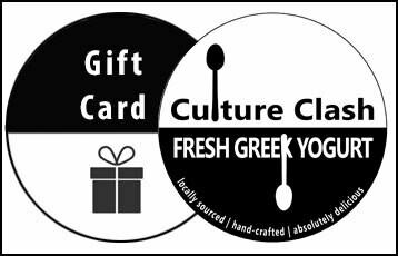 Culture Clash Greek Yogurt Gift Card