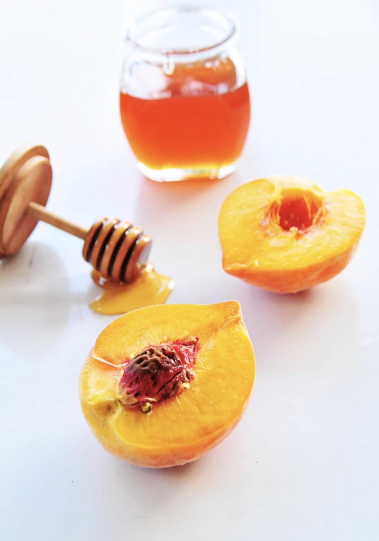 Honey Cinnamon peach