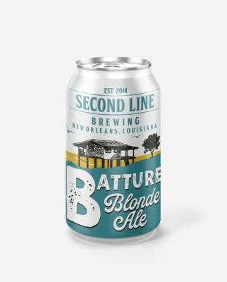 Batture Blonde Ale - Six Pack Cans
