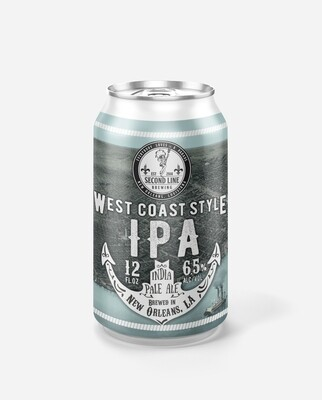 West Coast Style IPA - Six Pack Cans