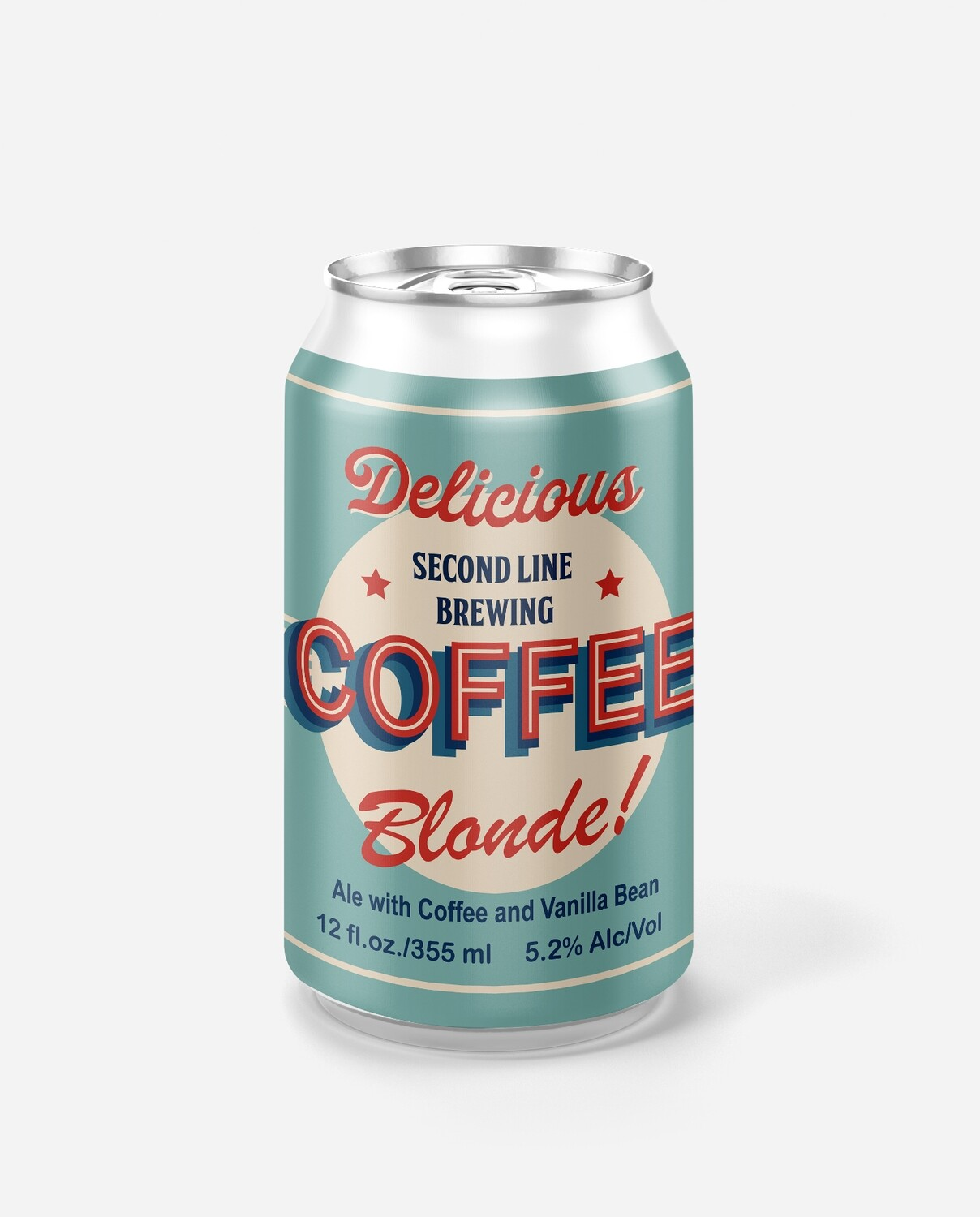 Coffee Blonde Ale - Six Pack Cans