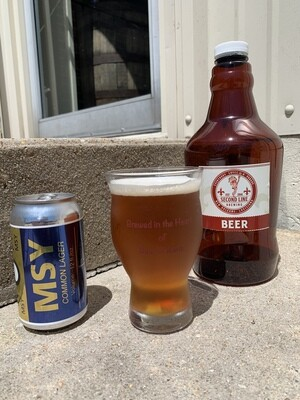 MSY Common Lager - Growler Fill