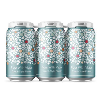 Pour With Vigor Czech Style Pilsner - 6 Pack Cans