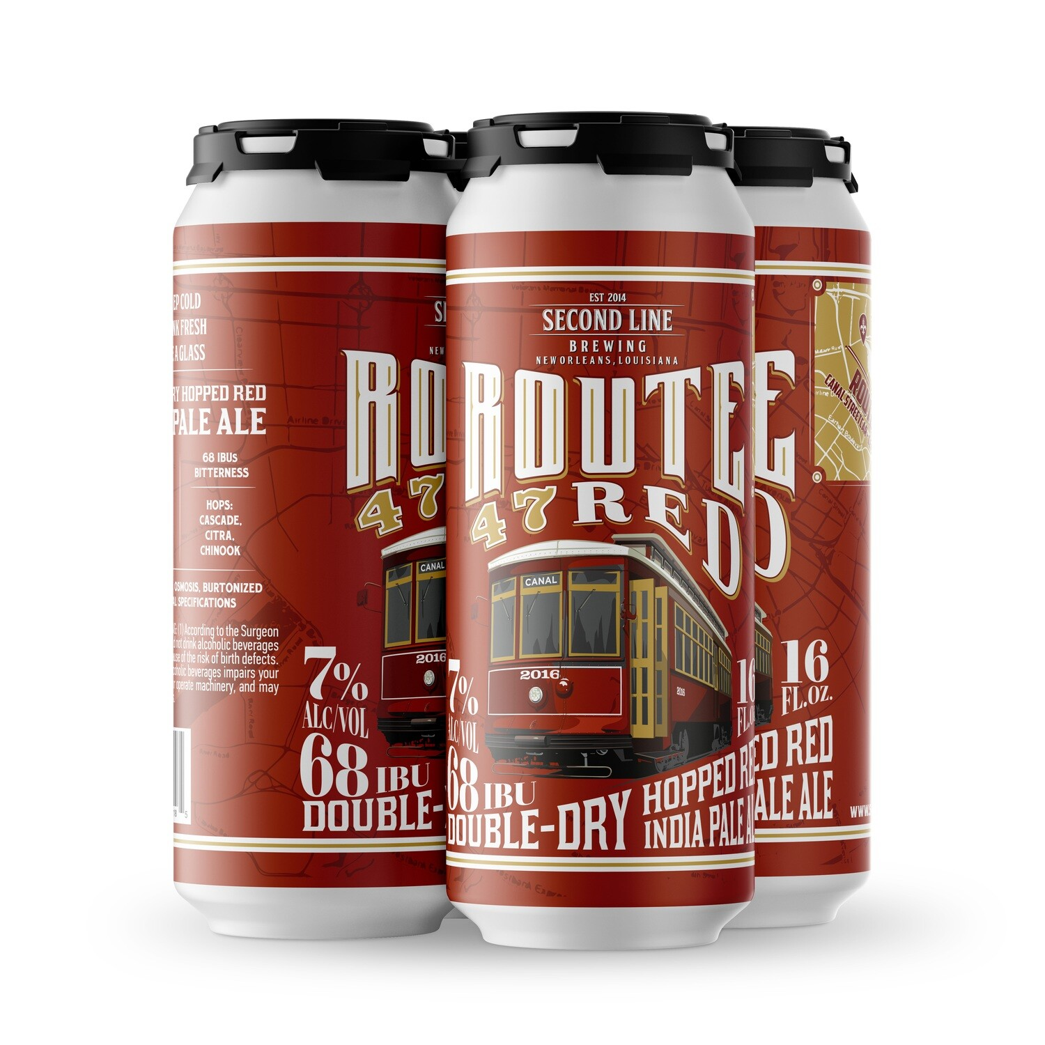 Route 47 Red IPA - 4pk of 16oz Cans